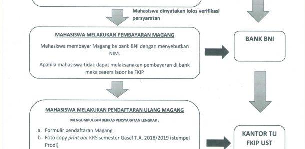 Info Magang 1 dan Magang 2 Semester Genap 2018/2019