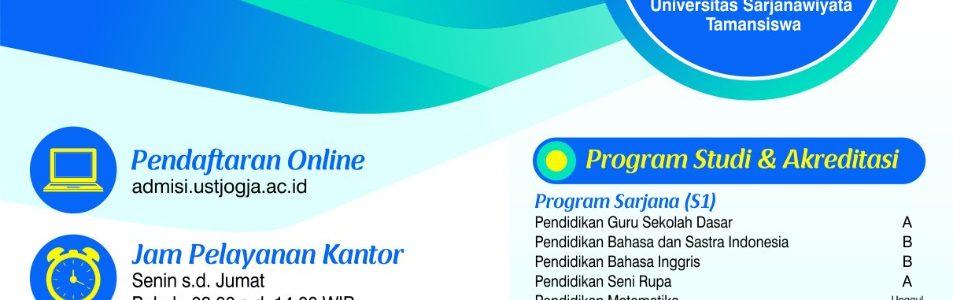 1 Day Service (Info Pendaftaran Mahasiswa Baru UST Tahun 2021)