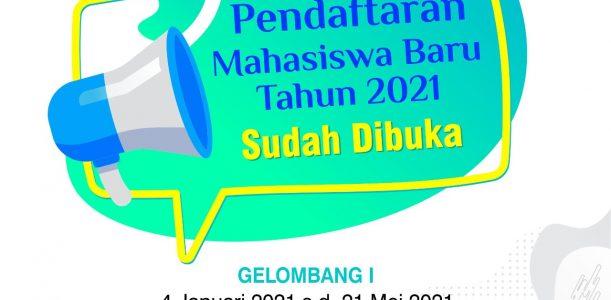 Pendaftaran Mahasiswa UST Gelombang 1 Tahun 2021