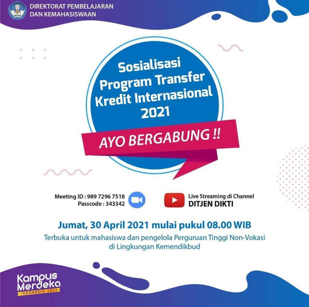 Program Transfer Kredit Internasional 2021