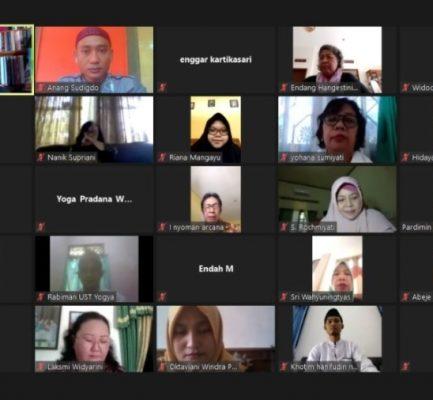 SYAWWALAN VIRTUAL FKIP UST YOGYAKARTA 2020